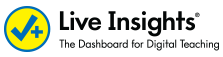Live Insights - The Dashboard for Digital Teaching