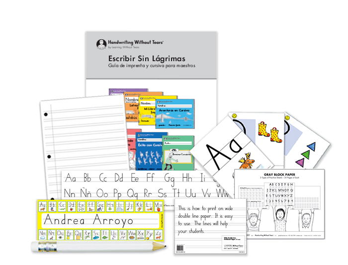 Kindergarten Teacher Kit A with Teacher's Guide (Spanish)