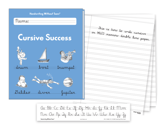 Advanced Cursive Learn at Home Kit