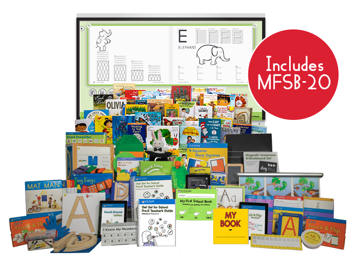 Pre-K Kit & Kaboodle Curriculum Kit with My First School Book