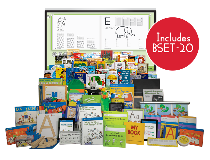 Get Set for School Curriculum Kit with My First Book Set