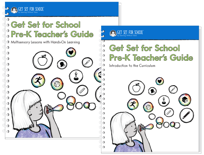 Get Set for School Pre-K Teacher's Guide Set