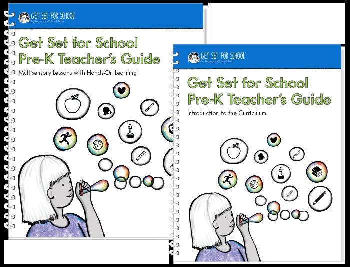 Get Set for School Workbooks & Materials | LWTears