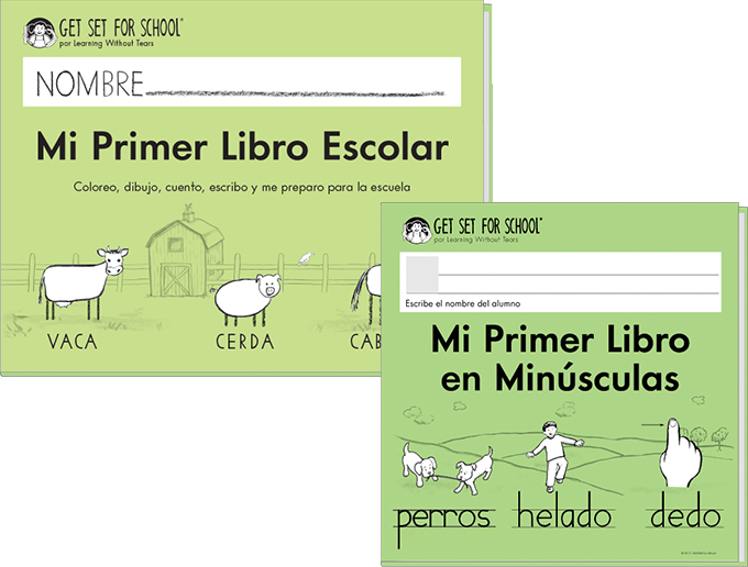 Mi Primer Libro Escolar Set (includes Mi Primer Libro Escolar + Mi Primer Libro Minúscula) (Spanish)