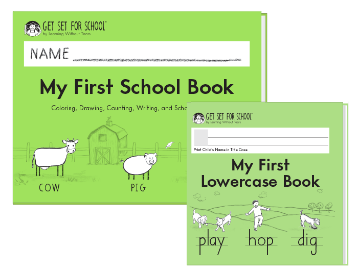 My First Book Set (includes My First School Book + My First Lowercase Book)