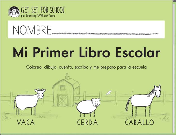 Mi Primer Libro Escolar (Spanish)