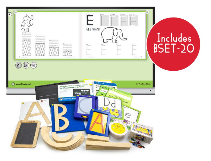 Readiness & Writing Kit with My First Book Set