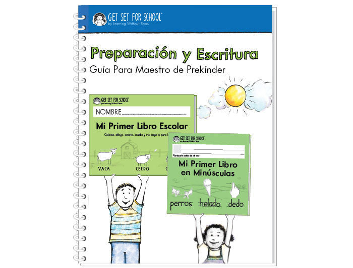 Preparación y Escritura Guía Para Maestro de Prekínder (Spanish)