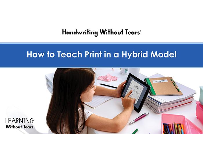 Hybrid Instruction: HWT Print On-Demand Workshop