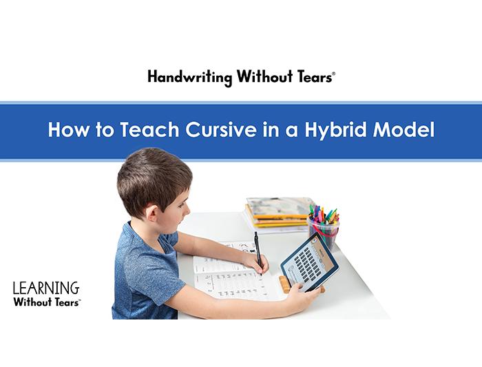 Hybrid Cursive Instruction: HWT Cursive On-Demand Workshop