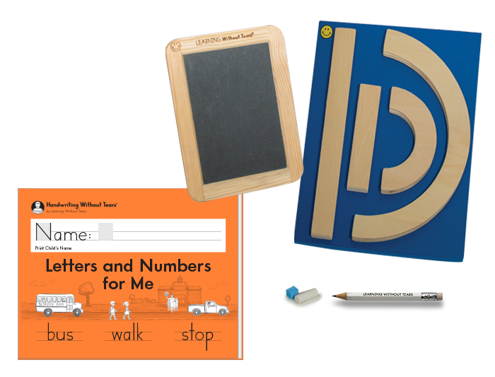 Individual Student Manipulative Pack With Letters and Numbers for Me