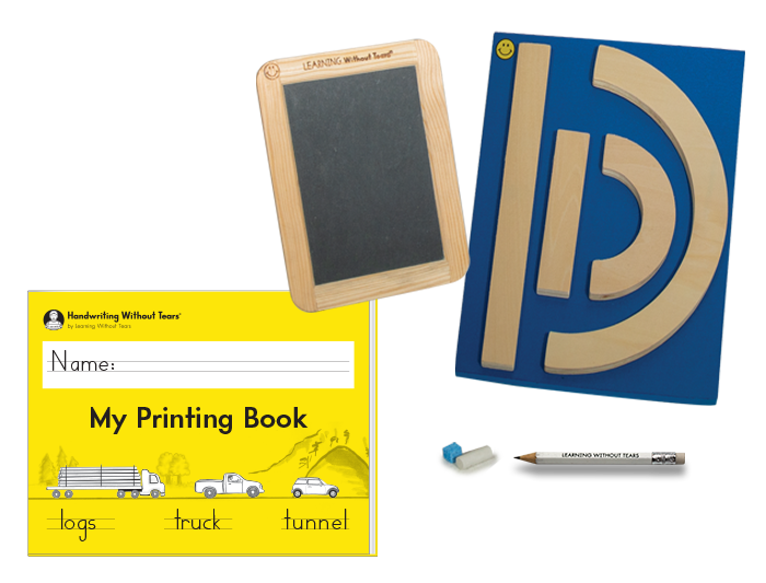 Individual Student Manipulative Pack With My Printing Book