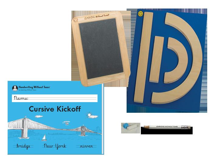 Individual Student Manipulative Pack With Cursive Kickoff