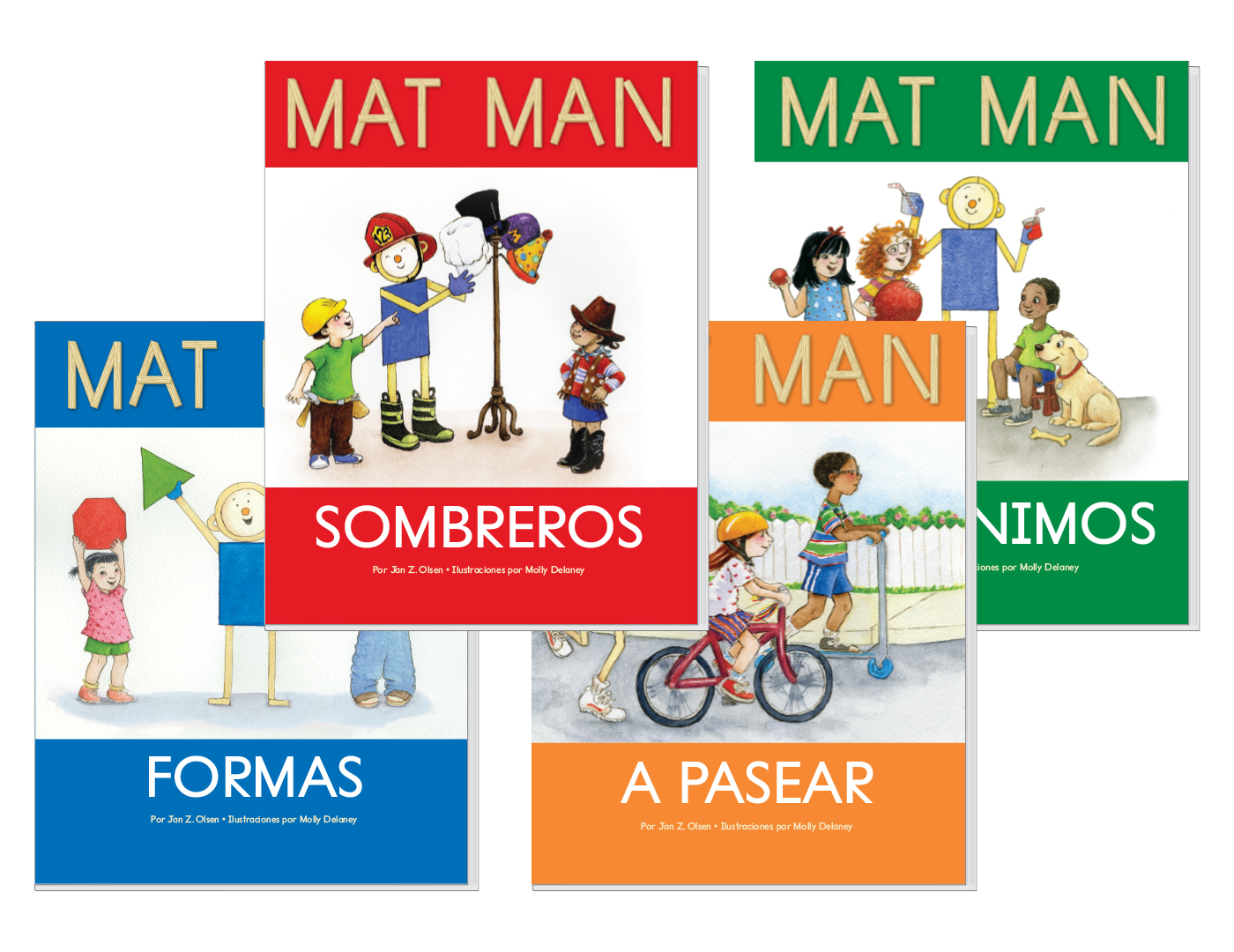 Spanish Mat Man Book Set