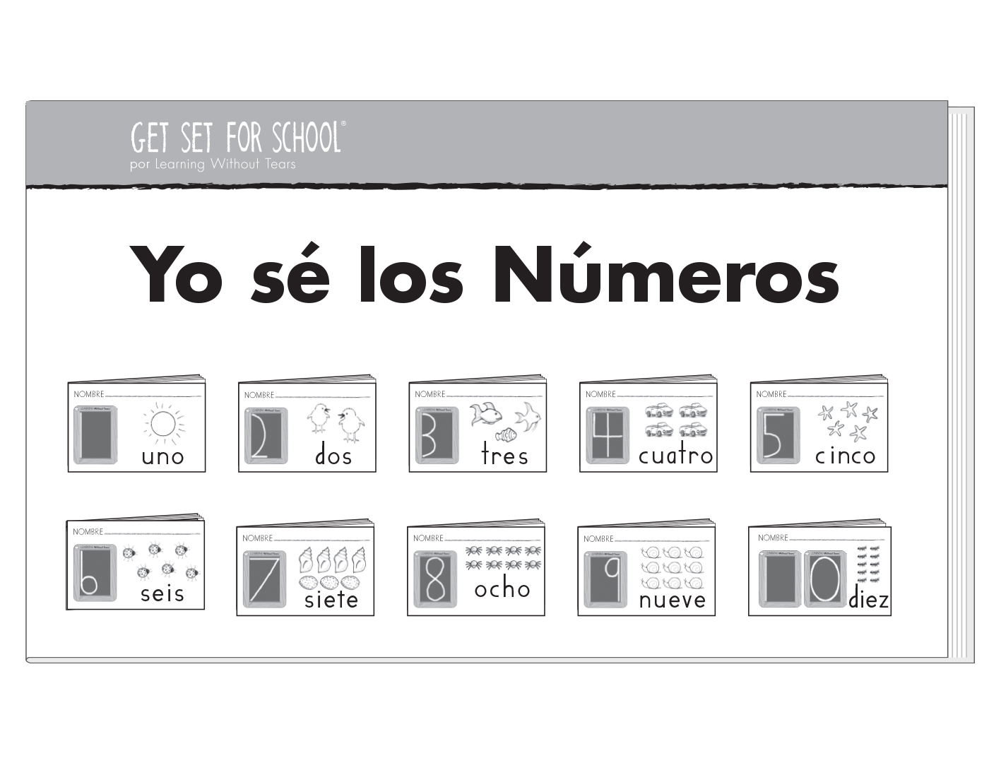 I Know My Numbers Individual Set Spanish