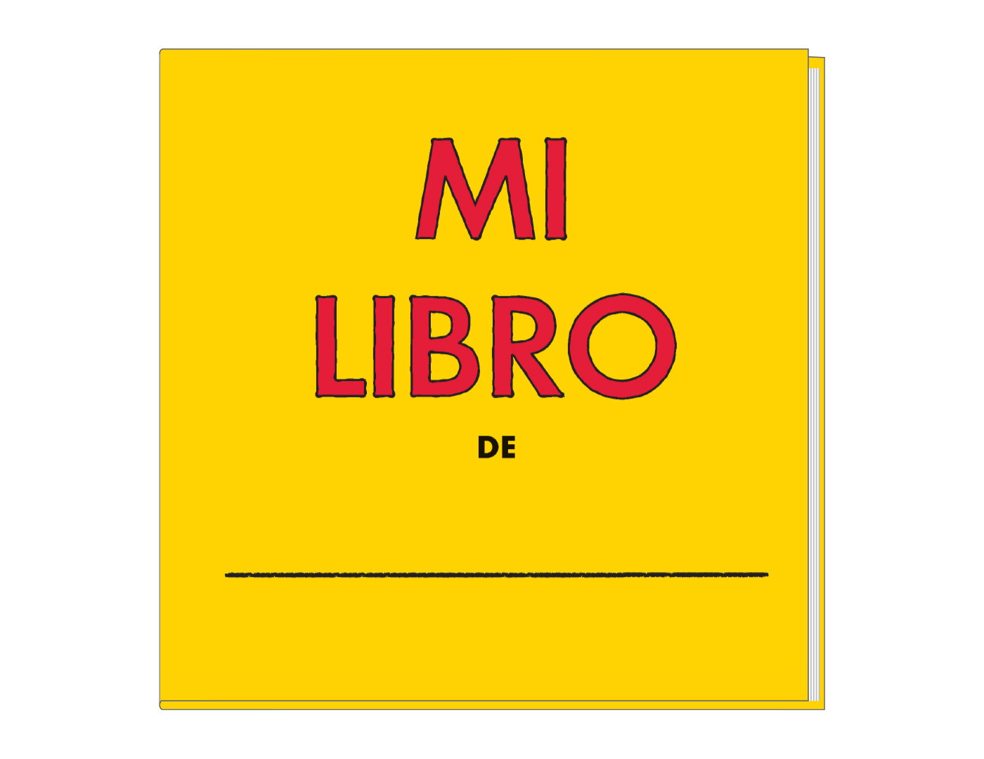 My Book activity book (Individual) Spanish