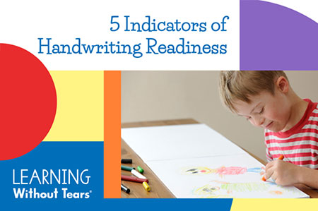 5 Indicators of Handwriting Readiness Watch On-demand Workshop