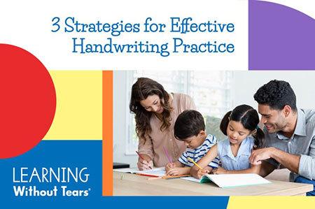 3 Strategies for Effective Handwriting Practice Watch On-demand