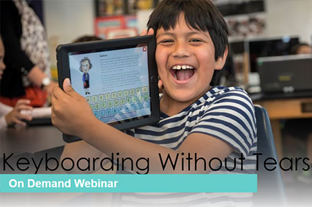 K-5 Keyboarding Without Tears Virtual Watch On-demand Workshop