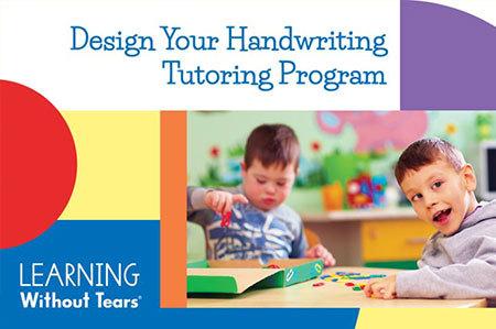 Design Your Handwriting Tutoring Program Watch On-demand Workshop