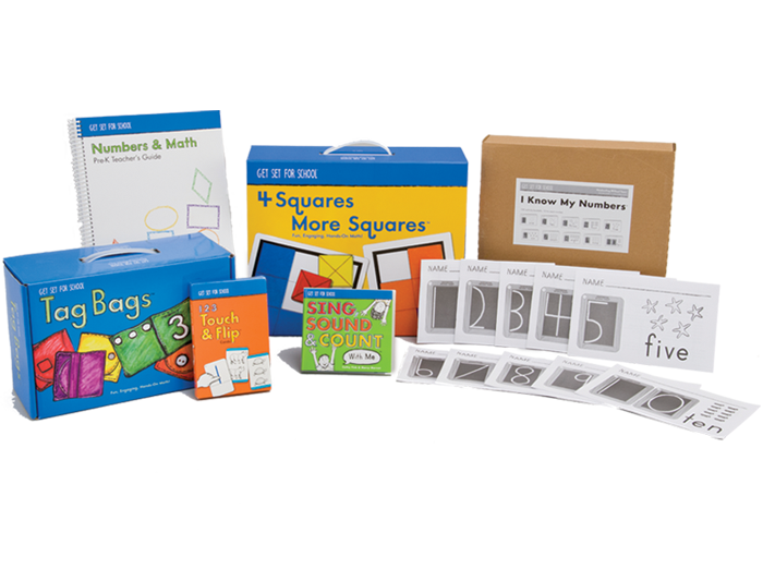 Pre-K Numbers & Math Kit