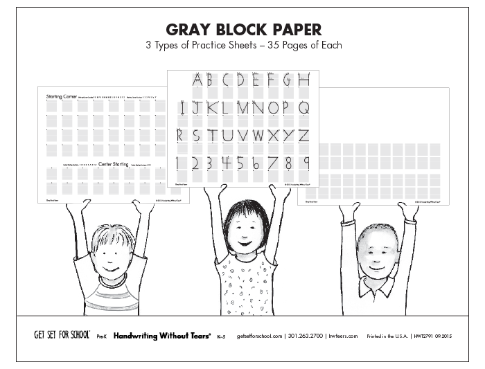 Gray Block <em>Paper</em> (105 sheets)