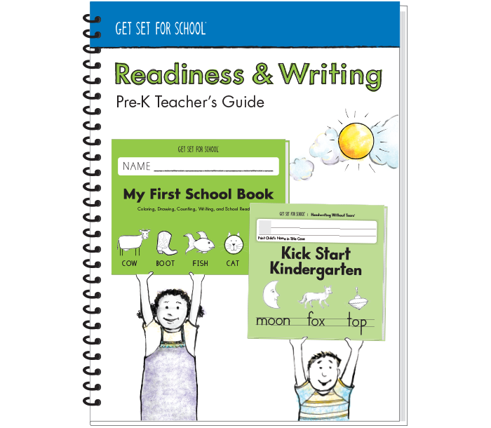 Readiness & Writing Pre-K Teacher's Guide