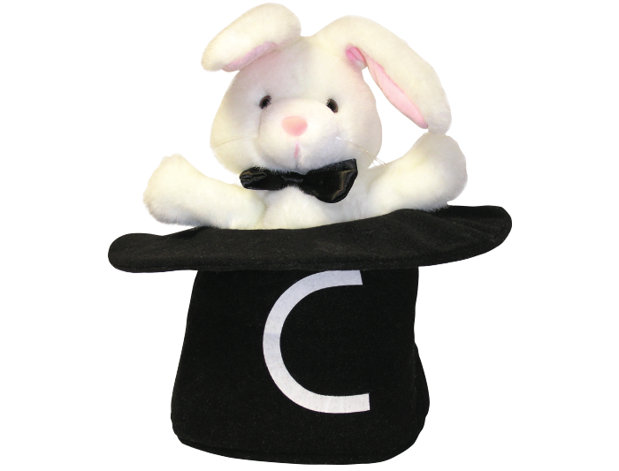 Magic C Bunny Puppet