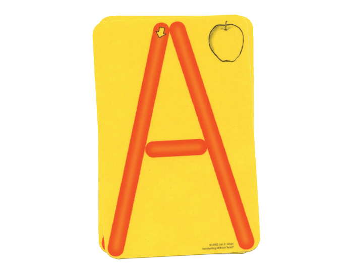 Additional Laminated Cards for the Roll-A-Dough Letters®