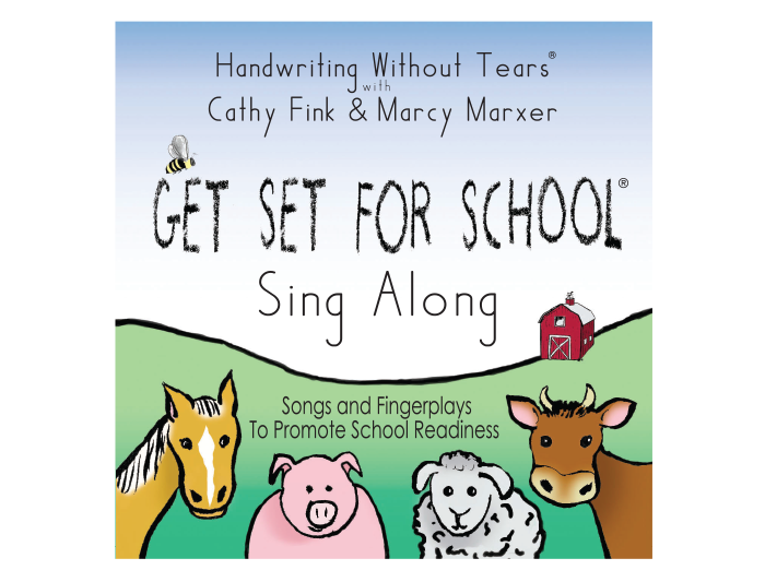 Get Set for School: Sing Along CD
