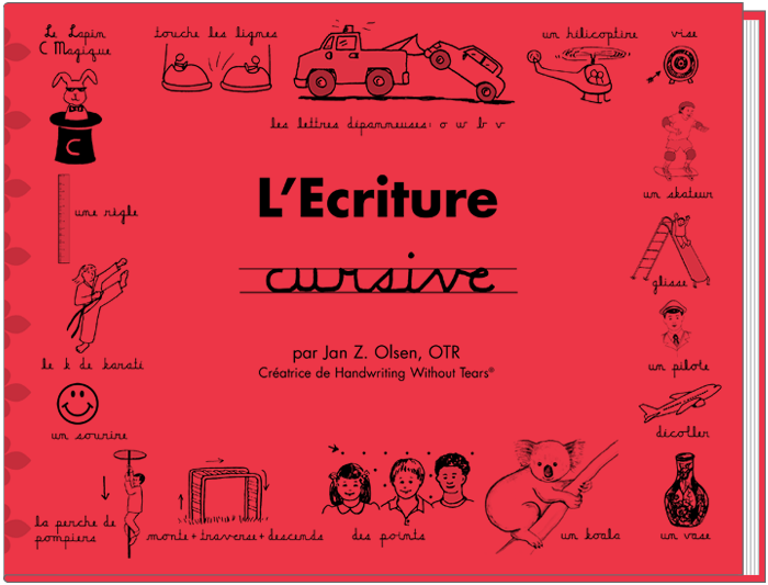 L'Ecriture cursive (French)