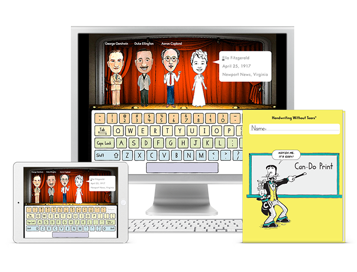 Can-Do Keyboarding (1-year student license) + Can-Do Print