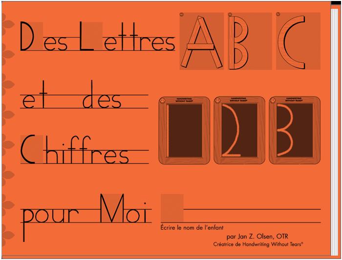 Des Lettres et des Chiffres Pour Moi (French)