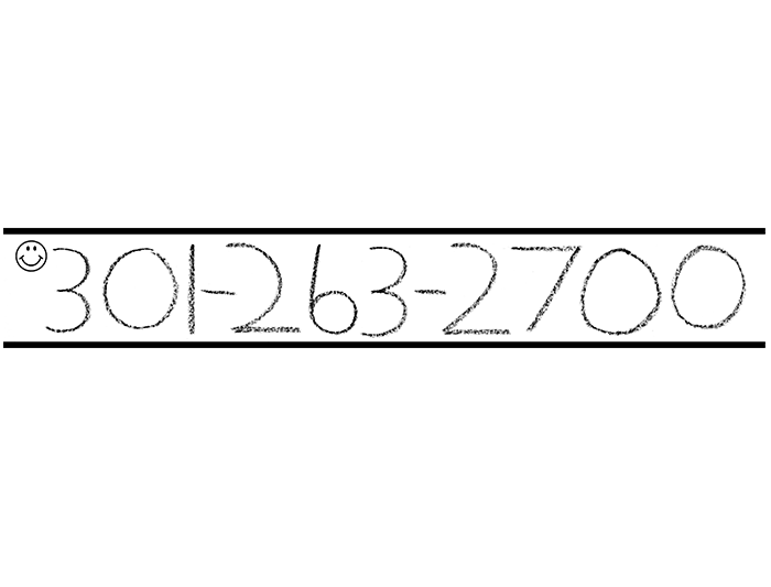 Capital and Number Practice Strips