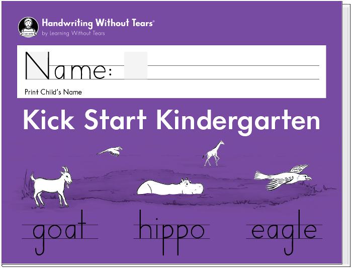 Kick Start Kindergarten Learning Without Tears