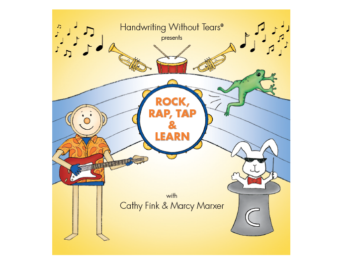 Rock, Rap, Tap & Learn CD