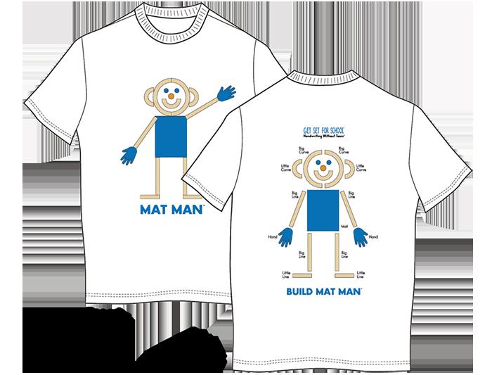 Mat Man® T-Shirt (Youth Medium)