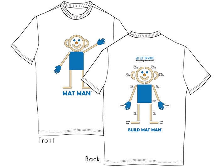 Mat Man® T-Shirt (Youth Medium)