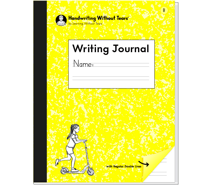 NEW! Writing Journal B  Double Lined Paper