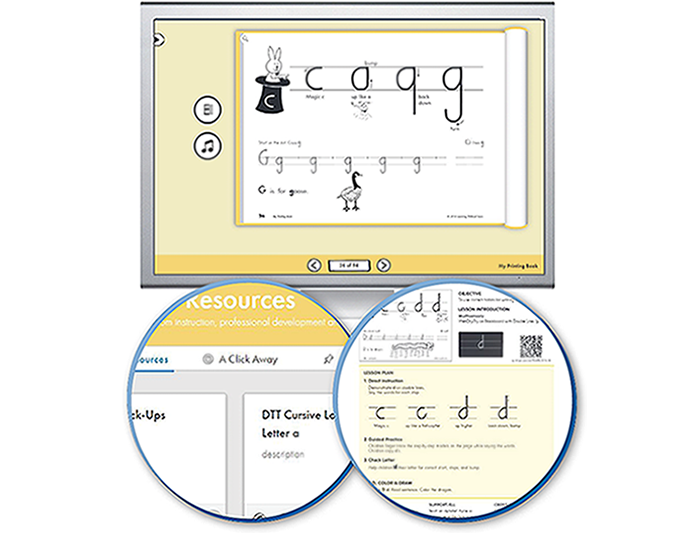 HITT: The Handwriting Interactive Teaching Tool™ - 1st Grade (1-year educator license)