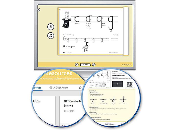 HITT: The Handwriting Interactive Teaching Tool™ - 1st Grade (1-year educator license)