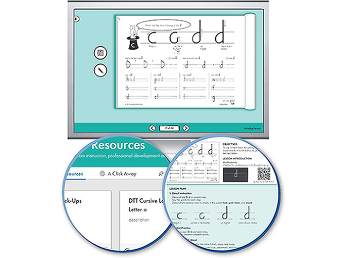 HITT: The Handwriting Interactive Teaching Tool™ - 2nd Grade (1-year educator license)