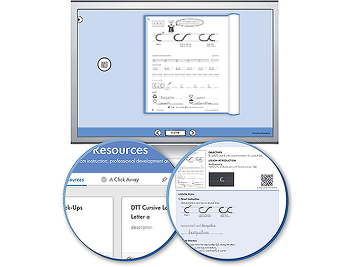 The Handwriting Interactive Teaching Tool™ 4th Grade - Cursive Success and Éxito con Cursiva (1-year educator license)