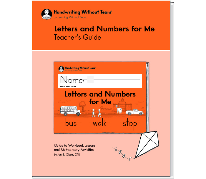 Letters and Numbers for Me Teacher's Guide
