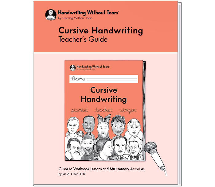 Cursive Handwriting Teacher's Guide