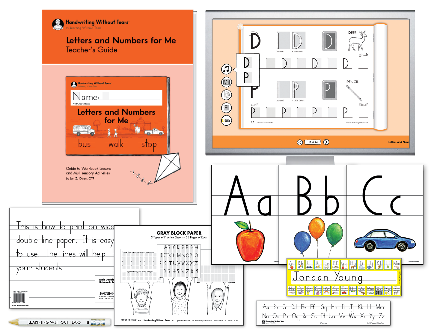 Teacher Kit A with Teacher's Guide: K