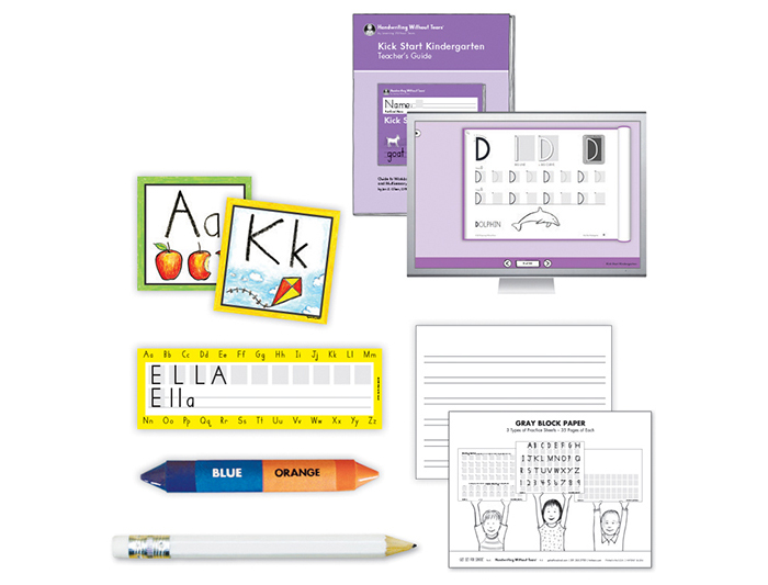 Transitional K Teacher Kit A with Teacher's Guide