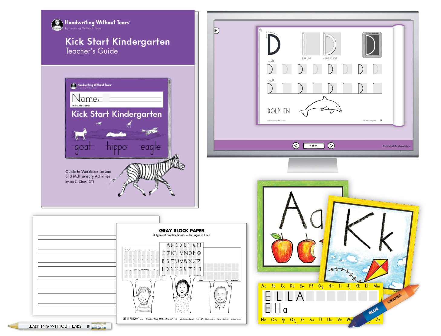 Teacher Kit A with Teacher's Guide: Transitional K