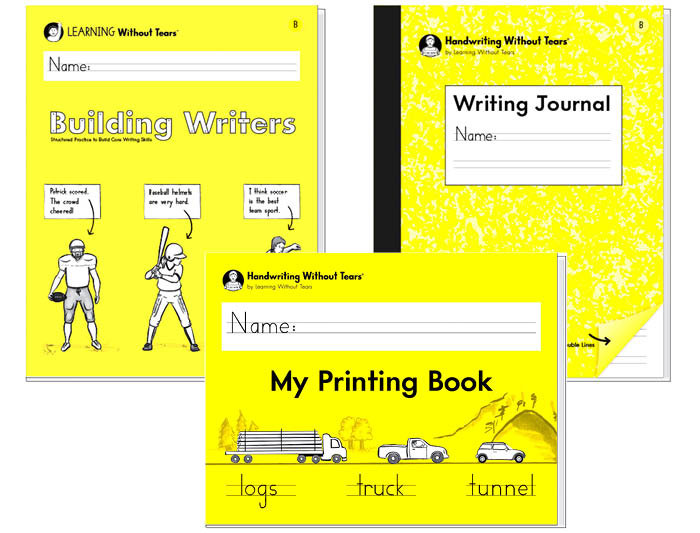 1st Grade Student Bundle: My Printing Book + Building Writers B + Writing Journal B
