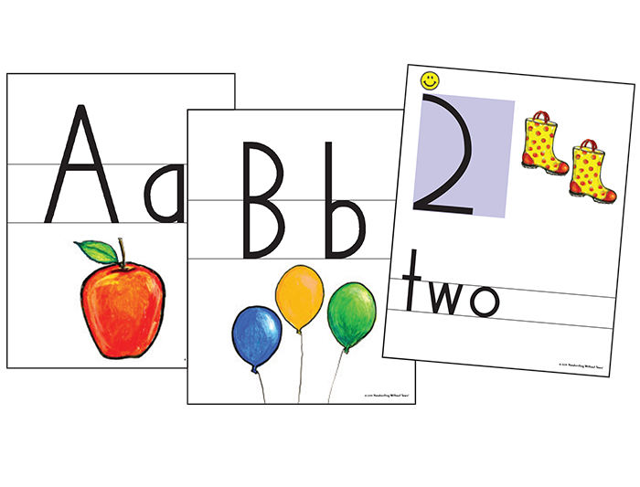 Color Print & Number Wall Cards | Learning Without Tears